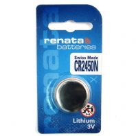 Renata Lithium Watch Batteries / Coin Cells - CR2450N
